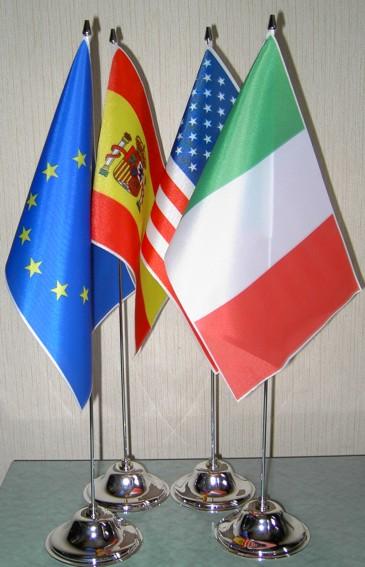 Arpas bandiere del mondo - Porta bandiere da tavolo ...